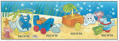 BPZ kinder Animaux marins crabe K02 56 France 2001