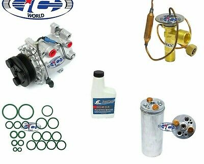 A/C Compressor Kit Fits Mitsubishi Mirage 1998-2002 (MSC90C) 77483