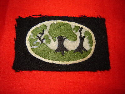 ORIGINAL WWII BRITISH UNIT/FORMATION PATCH 12TH ARMY CORPS VARIANT
