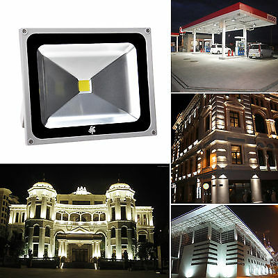 (Lot of 3) 50W Watts LED Pure White Flood lights Lamp High Power Spotlights IP65