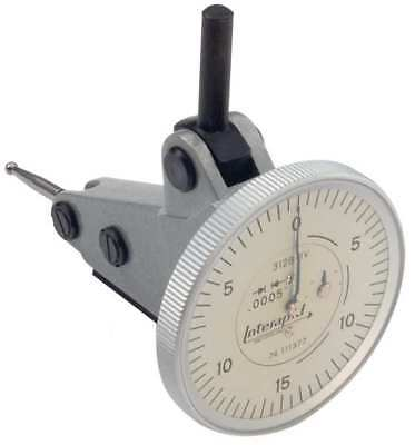 INTERAPID 312B-1V Dial Test Indicator, Vert, 0 to 0.060 In