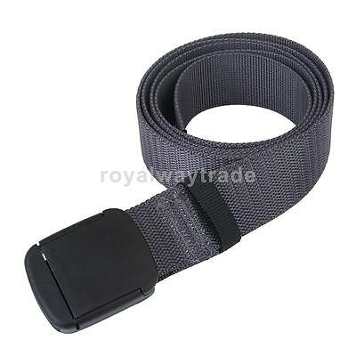 115cm Outdoor Survival Military Belt Waist Strap Quick Disconnect Waist Buckle