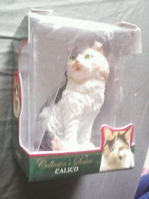 Collectors Edition CALICO CHIPPED EAR Figurine Ornament SHORT HAIR Cat
