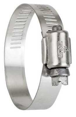 IDEAL 5220070 Hose Clamp, 3/4 to 1-3/4In, SAE 20, SS, PK10