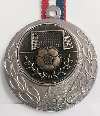 Man of the Match Football Medal + Ribbon + FREE Engraving