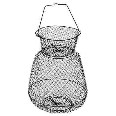 "Wire Fishing Basket, 13"" Collapsible, Reinforced Bottom, Berkley  #BA13WB"