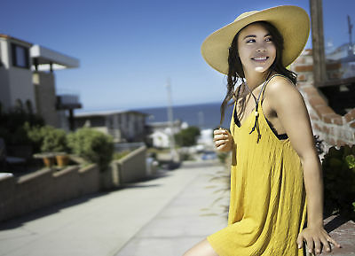 Women's Wide Large Brim Straw Hat Summer Beach Outdoor Sun Cap Sunhat