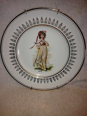 """Vintage Wood & Sons,Collectible 10"""" Plate, Pinkie"""