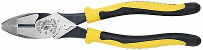 KLEIN J213-9NE-CR 9'' Journeyman Diagonal Cutting Pliers Connector Crimping