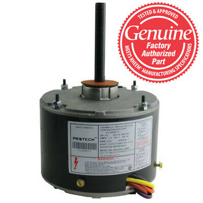 Rheem Ruud Weather King Corsaire Condenser FAN MOTOR 1/6 HP 230v 51-21854-01