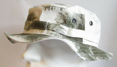 7b04c2d4f5f90 RECCE Hat Boonie Boonie German Army Snow Camo - Made in Germany -