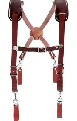 Leather Work Suspenders Occidental Leather 5009 New