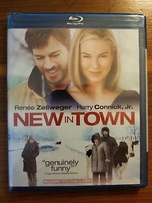 New In Town (Renee Zellweger-Harry Connick Jr.) Ws  Blu-Ray Brand New And Sealed