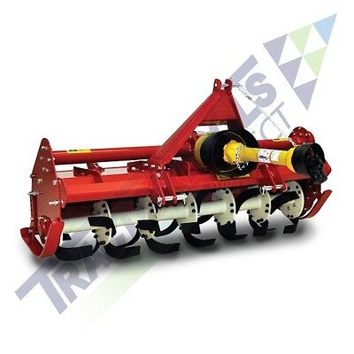 """Caroni 59"""" Heavy-Duty 5 Foot Rotary Tiller for Compact Tractors, FM 1500"""