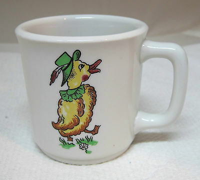 Mayer China Toyland Childs Mug Cup Vintage Clown Duck Jack in Box Ironstone T20