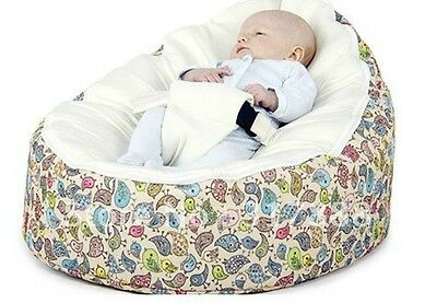 Comfortable Zipper Baby Bean Bag Soft Sleeping Bag Portable Seat Without Filling