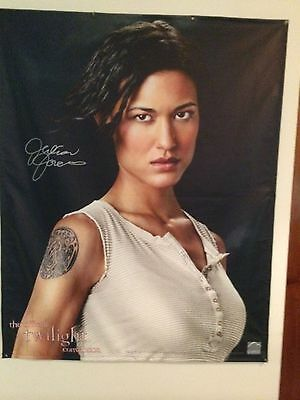 Julia Jones signed poster