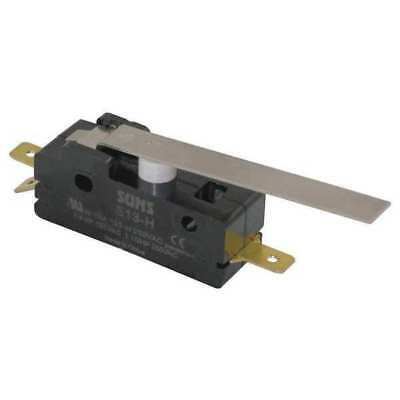 S13-H Snap Switch, 15A, SPDT, Hinge Lever