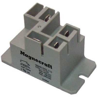 MAGNECRAFT 9AS5A52-24 Enclosed Power Relay, 30A, 24VAC, SPDT