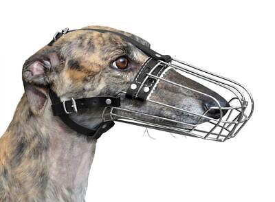 New Metal STRONG Wire Basket Dog Muzzle for Collie and similar dogs 3D