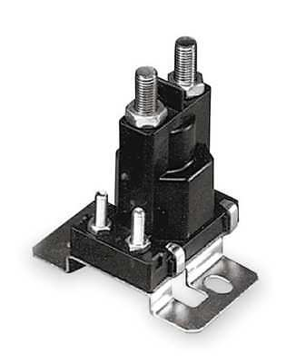 DC Power Solenoid,12V,Amps 100 WHITE-RODGERS 120-105711