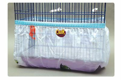 Bird cage seed catcher skirt guard LARGE