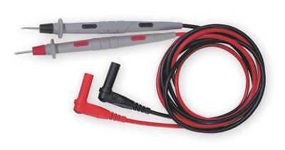 POMONA 5519A Test Leads, 48 In. L, 1000VAC, Black/Red, PR