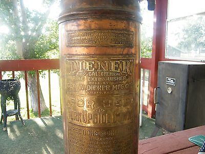 """Diener"" Fire Extinguisher-Classification A-1-NoA-801141-Brass n Copper-Must See"