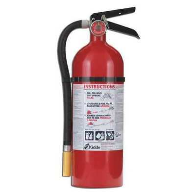 Fire Extinguisher, 3A:40B:C, Dry Chemical, 5 lb. KIDDE 46611220