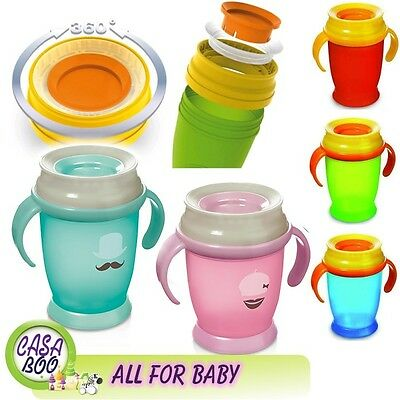 Anyway Up 360 Toddler Cup/Drinking like from a glass/ (ACTIVE) newLine RETRO