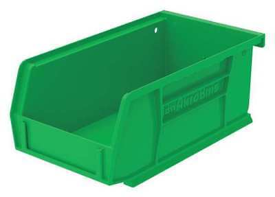"Green Hang and Stack Bin, 7-3/8""L x 4-1/8""W x 3""H AKRO-MILS 30220GREEN"