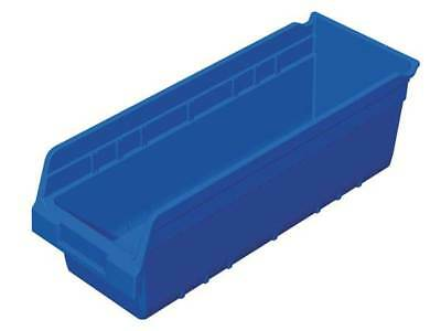 "Blue Shelf Bin, 17-7/8""L x 6-5/8""W x 6""H AKRO-MILS 30098BLUE"