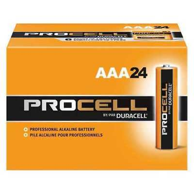 Duracell Procell Alkaline AAA Batteries, 24 Pack DURACELL PC2400BKD