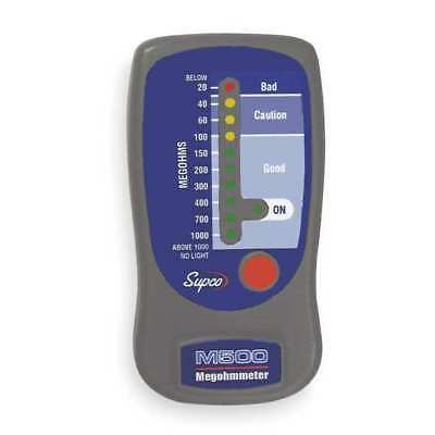 Line Powered Megohmmeter,500VDC SUPCO M500
