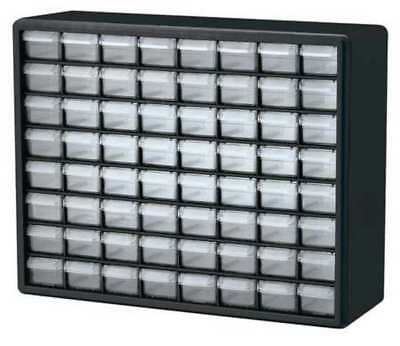 Drawer Bin Cabinet, 6-3/8 In. D, 20 In. W AKRO-MILS 10164