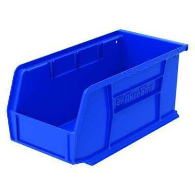 Blue Hang and Stack Bin, 30 lb Capacity, 30230BLUE, Akro-Mils