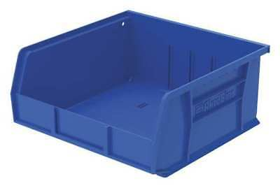 "Blue Hang and Stack Bin, 10-7/8""L x 11""W x 5""H AKRO-MILS 30235BLUE"
