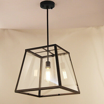 Industrial lighting Vintage Chandelier Wrought Iron Modern Pendant Ceiling Light