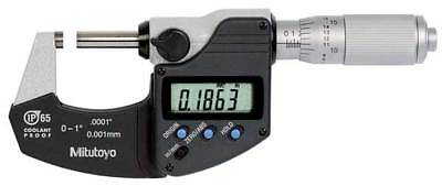 MITUTOYO 293-349-30 Electronic Micrometer, 0-1 In, 0.0001 In