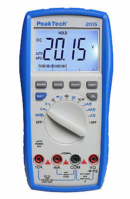 PeakTech 2015 Digital Multimeter Messgerät Meter Messer Gerät Digitalmultimeter
