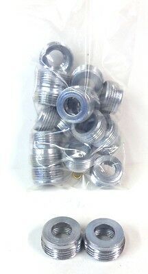 """Unknown Brand,  Reducing Bushing,  Rb3, 1"""" X 1/2"""", New, Lot Of 20"""