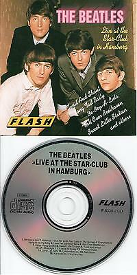 THE BEATLES -  Live At The Star-Club In Hamburg , CD VERY RARE GERMANY EDITION