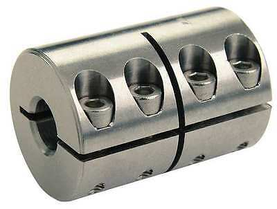 RULAND MANUFACTURING CLX-6-6-SS Coupling, One Piece, Bore Dia 3/8 x 3/8 In