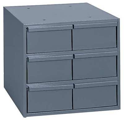 Drawer Bin Cabinet, 11-5/8 In. D, Gray DURHAM 001-95