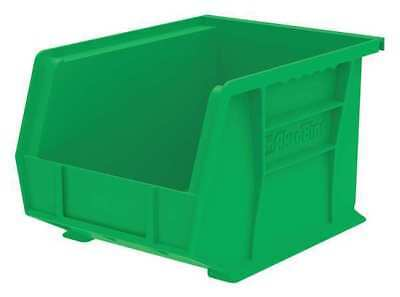 "Green Hang and Stack Bin, 10-3/4""L x 8-1/4""W x 7""H AKRO-MILS 30239GREEN"