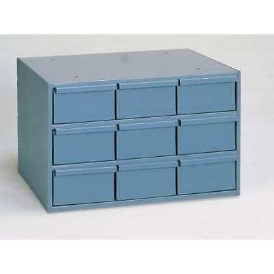 Drawer Bin Cabinet, 11-5/8 In. D, Gray DURHAM 004-95