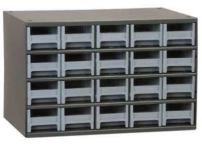 Drawer Bin Cabinet, 11 In. D, 17 In. W AKRO-MILS 19320
