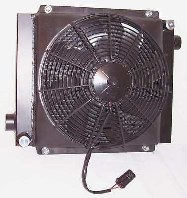 COOL-LINE D30-12 Oil Cooler, 12 VDC, 4-50 GPM, 0.48 HP