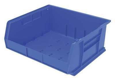 "Blue Hang and Stack Bin, 14-3/4""L x 16-1/2""W x 7""H AKRO-MILS 30250BLUE"