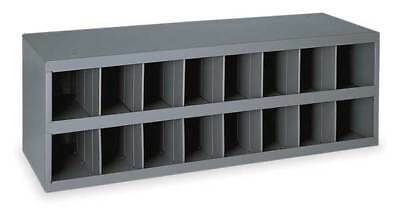 DURHAM 353-95 Bin Unit, 16 Bins, 33-3/4x12x11-1/2 In.